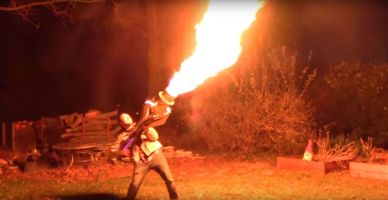 Fire  Vortex  Cannon  Need We Say More? | Hackaday
