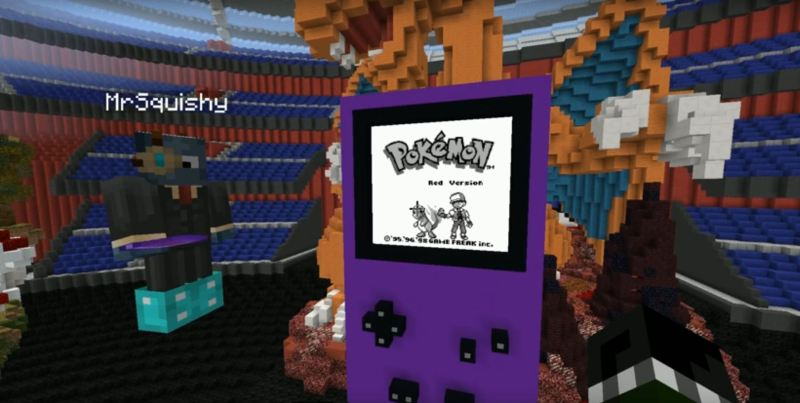 Game-Ception: Pokemon Red Playable Inside Minecraft | Hackaday