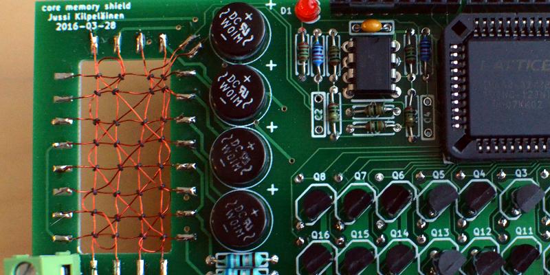 Core Memory Upgrade For Arduino | Hackaday