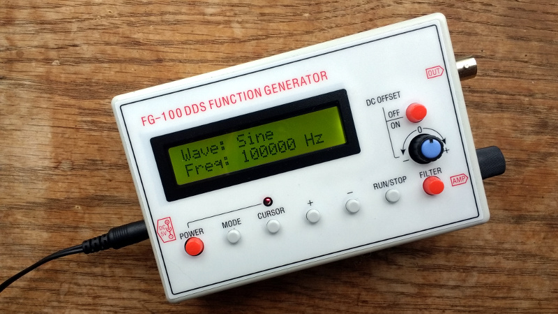 Review: FG-100 DDS Function Generator | Hackaday