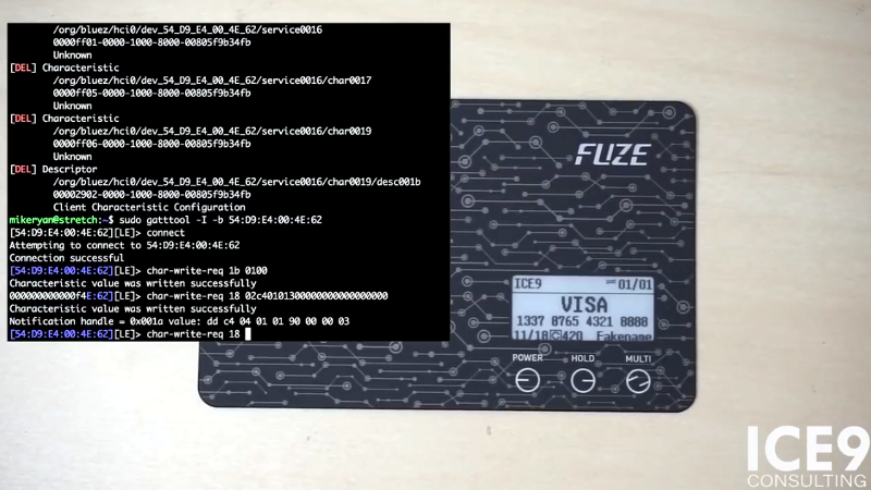 Cracking A Bluetooth Credit Card | Hackaday