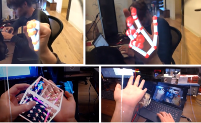 Leap Motion Announces Open Source Augmented Reality Headset
