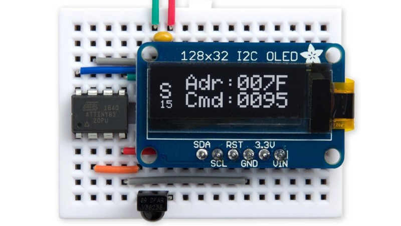 IR Detective Eases Development With Compact Decoding | Hackaday
