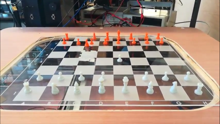 Play Chess Against A Ghost | Hackaday
