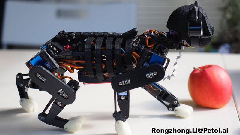 The Sensor Array That Grew Into A Robot Cat | Hackaday