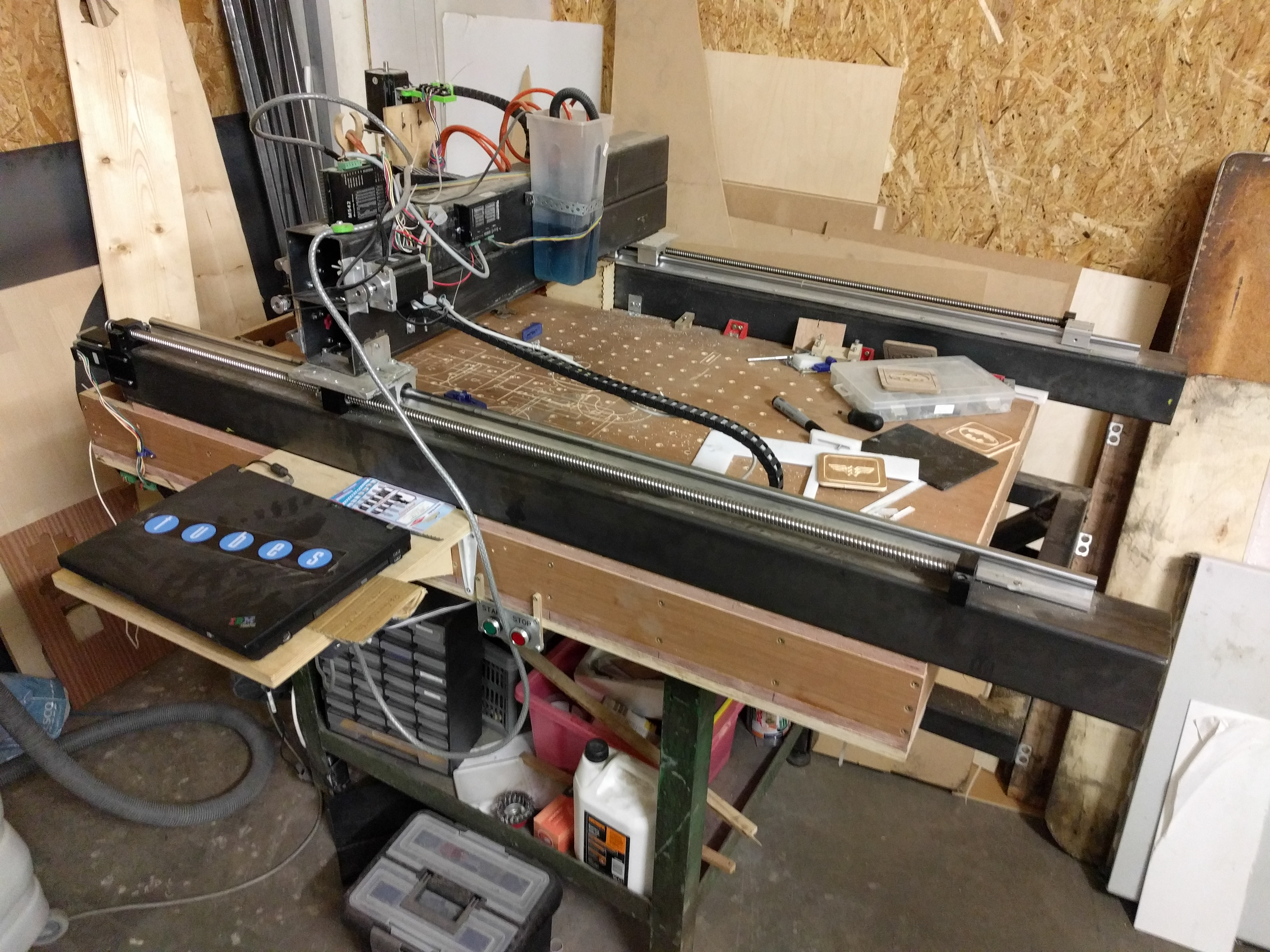 Tog Diy Cnc Router Hackaday