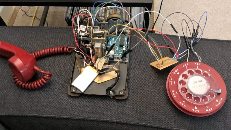 Telephone Wiring Up Old Phone Ringer To Arduino Electrical - Wiring