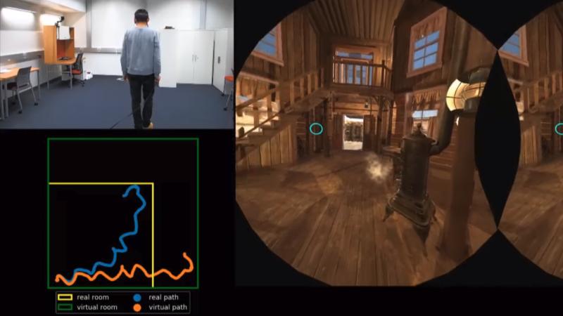 Redirected Walking In VR Done Via Exploit Of Eyeballs | Hackaday