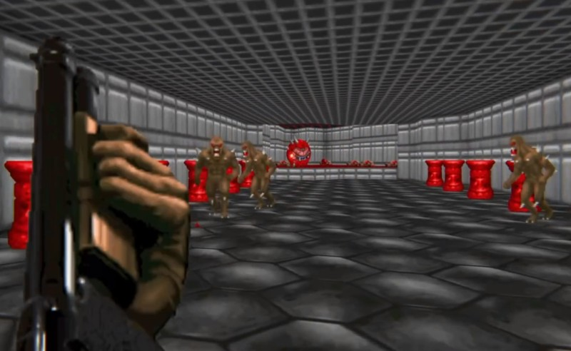 Neural Networks Using Doom Level Creator Like It's 1993 | Hackaday