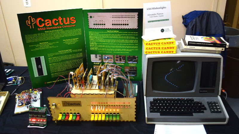 VCF East: Cactus, Retro Because It Wants To Be | Hackaday