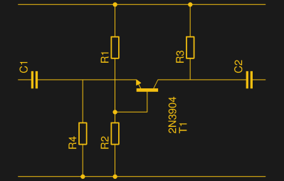 The common base amplifier circuit