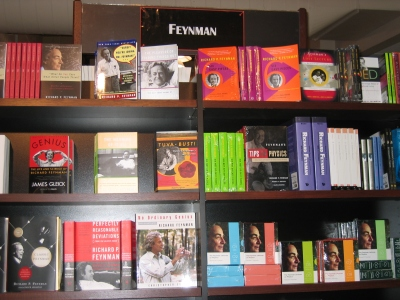Feynman book section at Caltech