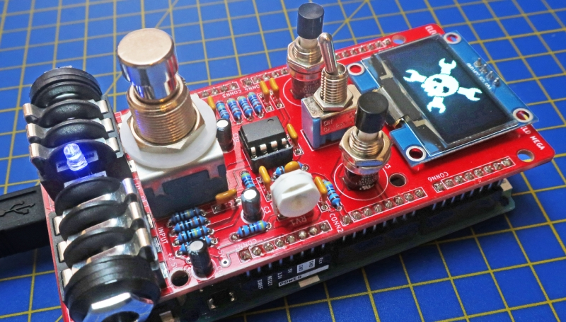 Stomping On Microcontrollers: Arduino Mega Guitar Effects
