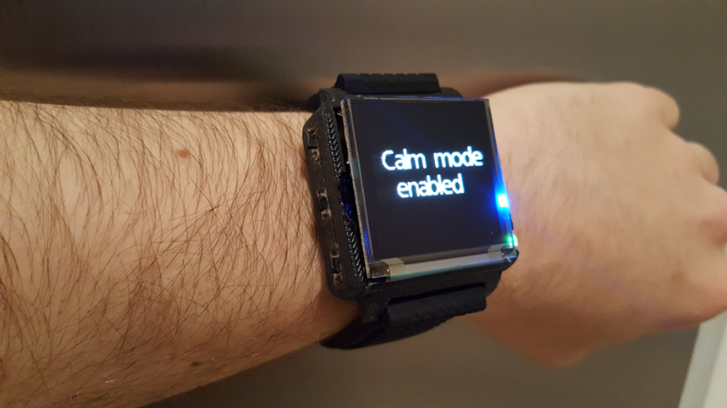 Smartwatch Fights Anxiety With Action | Hackaday
