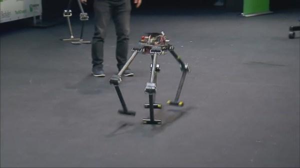RoMeLa's ALPHRED - quadruped robot