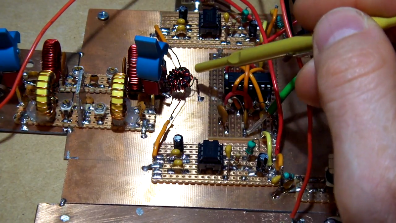 Homebrew SDR Ham Radio In 9 Parts | Hackaday