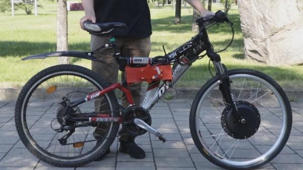 Testing DIY battery pack on E-bike