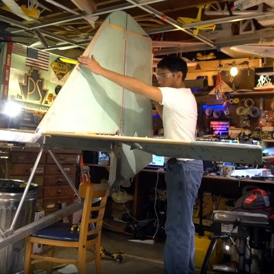 Building An Ultralight In A Basement Is Just So Beautiful To See