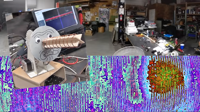 Desktop Radio Telescope Images The WiFi Universe | Hackaday