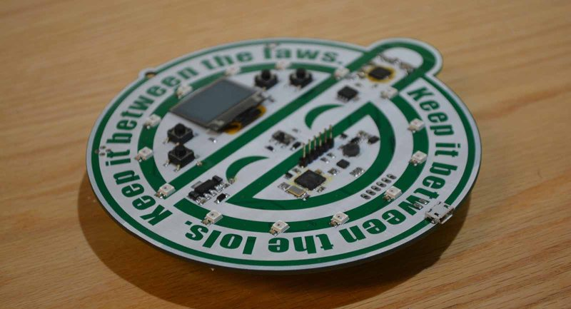 A Sneak Preview Of The Hacker Warehouse Badge | Hackaday