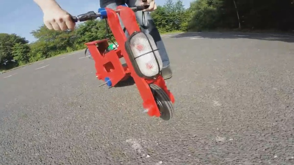 James Bruton's mini electric bike