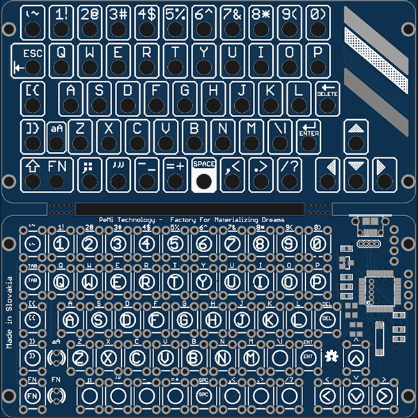 Turning Tact Switches Into Keyboards   Hackaday