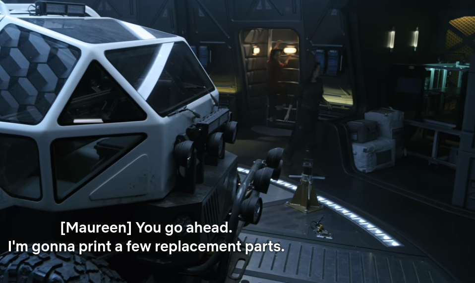 Lost In Space Gets 3d Printing Right Hackaday