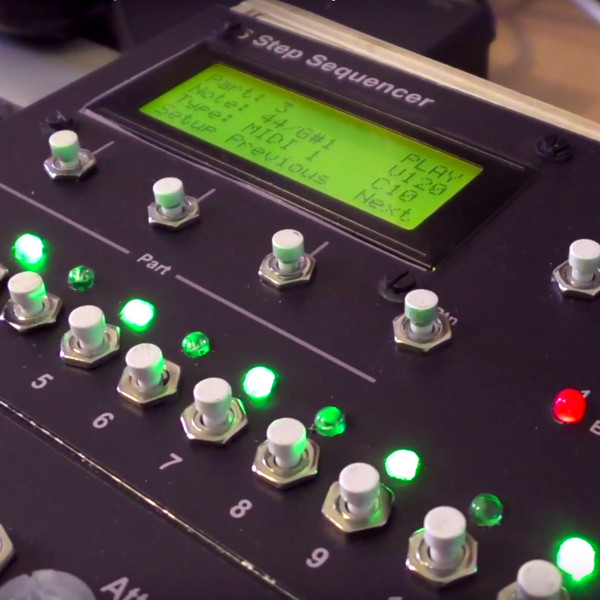 A MIDI Sequencer To Be Proud Of | Hackaday
