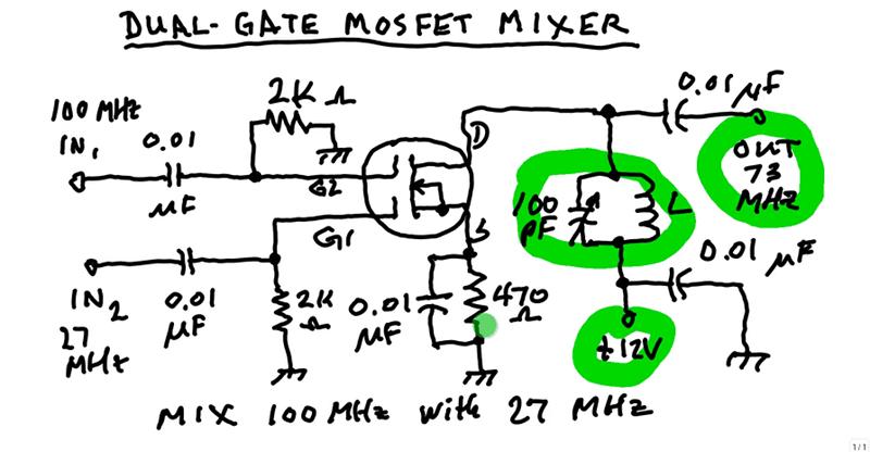 Understanding A MOSFET Mixer | Hackaday