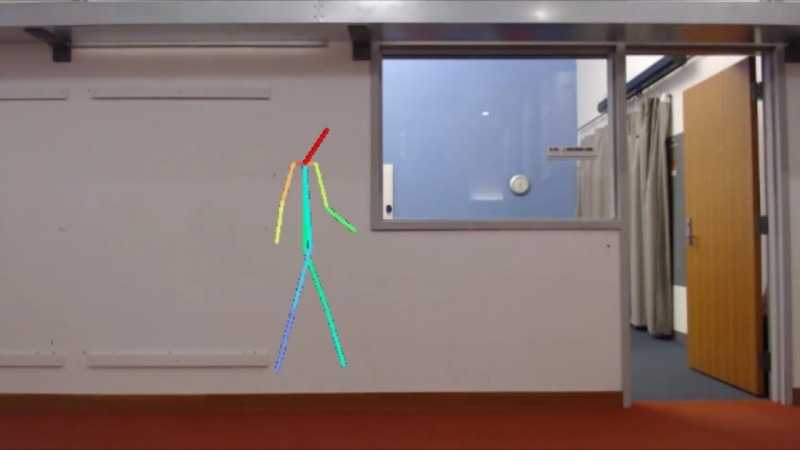 Using AI to see through walls
