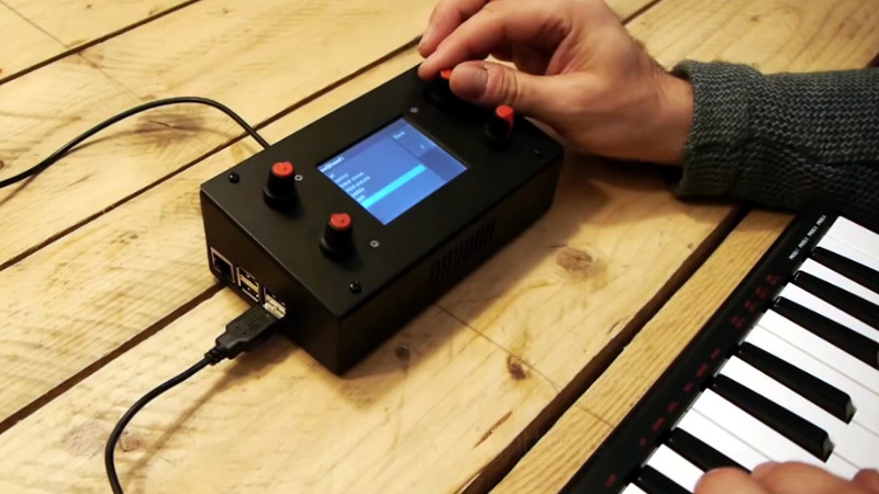 A Fully Open Source Raspberry Pi Synthesizer Hackaday