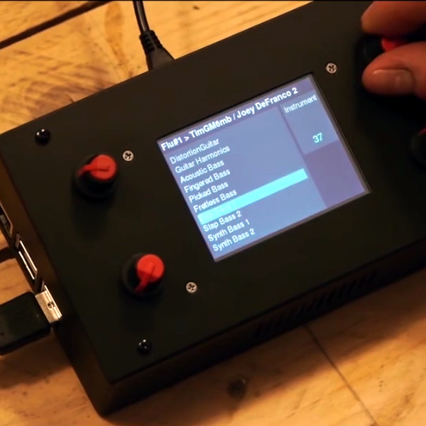 A Fully Open Source Raspberry Pi Synthesizer | Hackaday