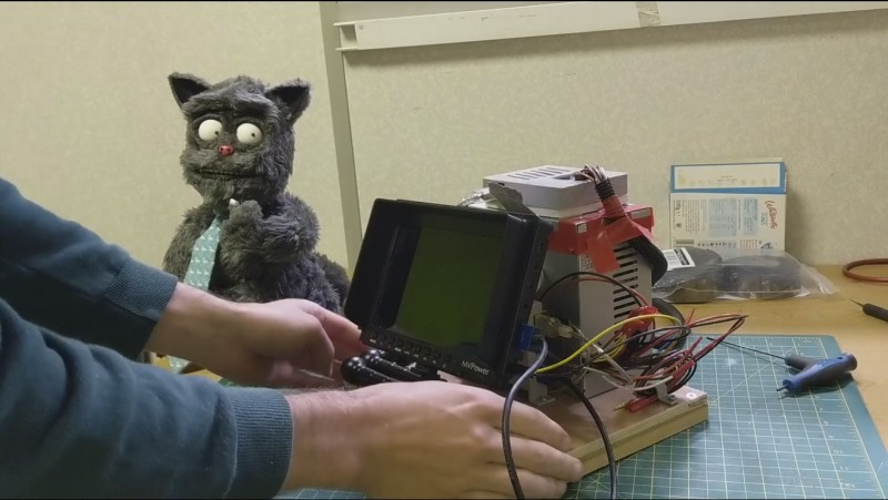 Billy Whiskers: animatronic puppet