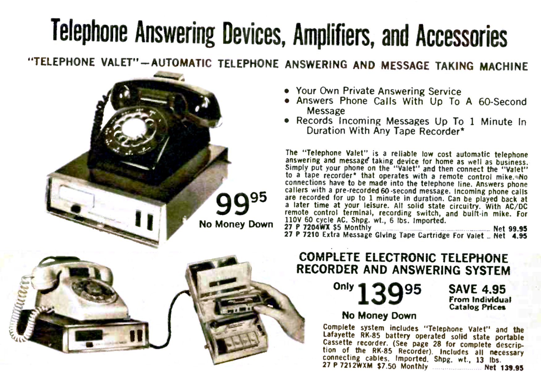 The Bad Old Days Of Telephone Answering Machines | Hackaday