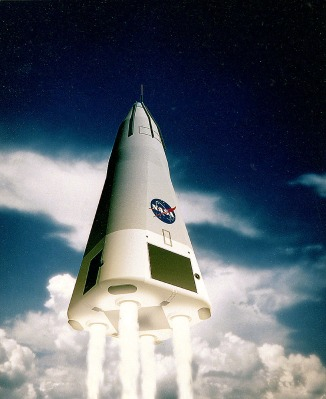 Delta Clipper: A 1990s Reusable Single-Stage To Orbit Spaceship
