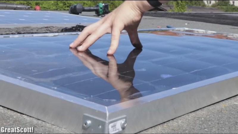DIY solar panel vs. commercial solar panel