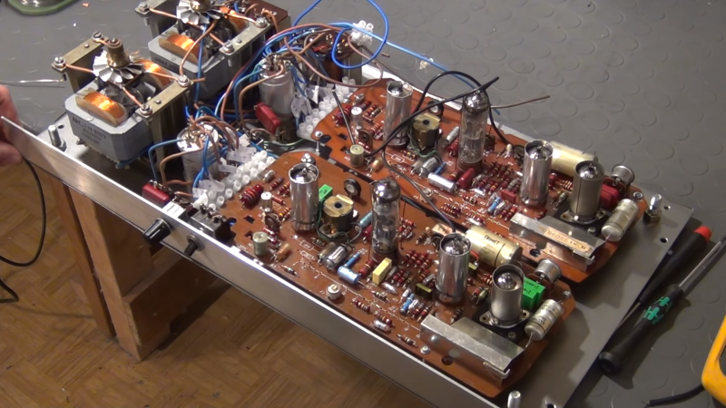 A Stereo Tube Amp For Less Than $5 | Hackaday