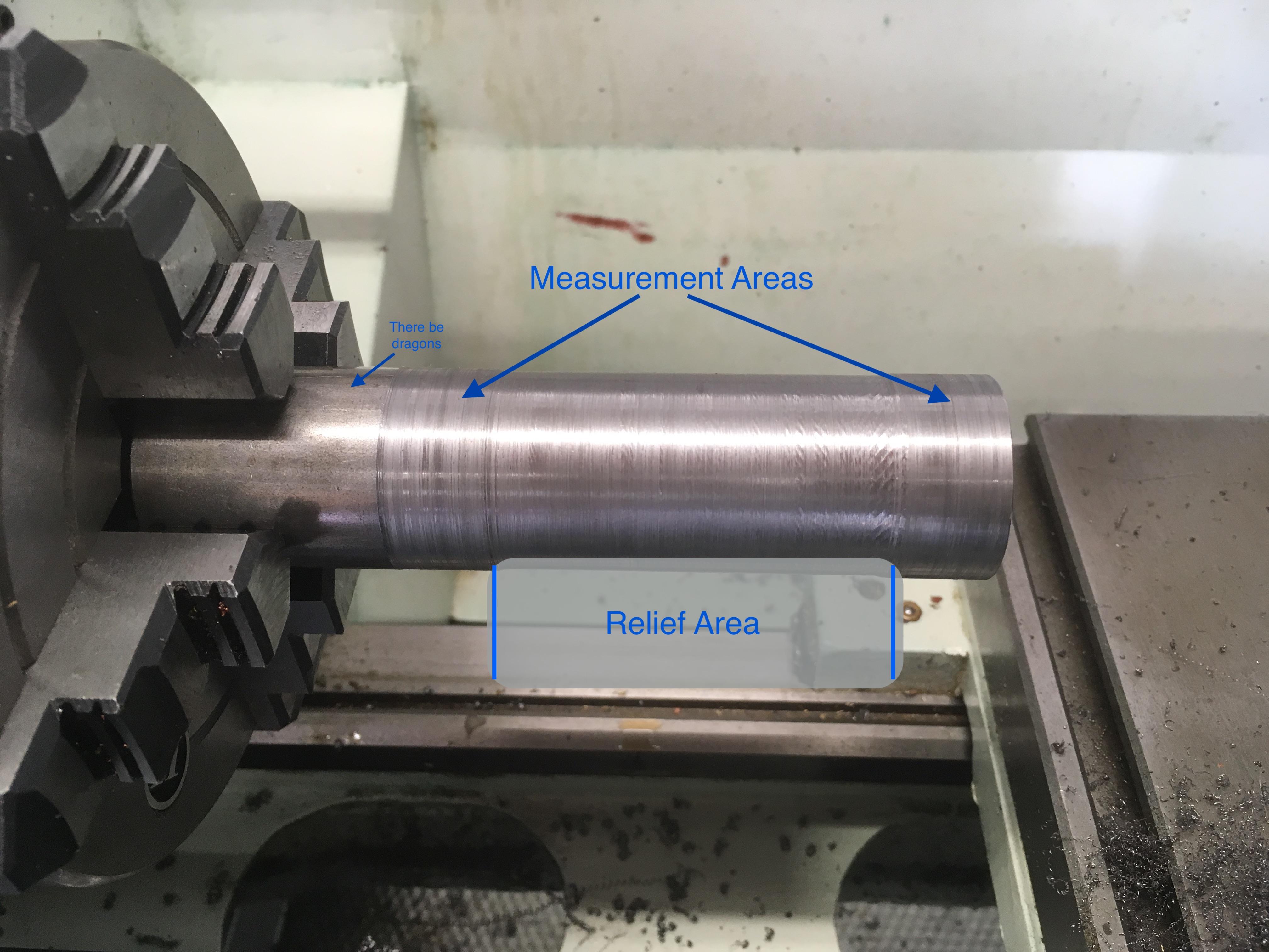 Lathe tailstock alignment indicator holder