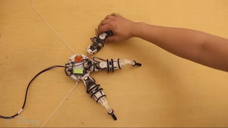 Modular robot legs from Disney