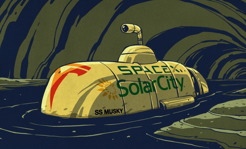 Let's Talk About Elon Musk's Submarine | Hackaday
