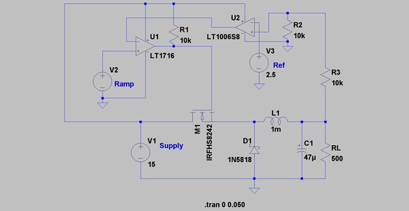 Circuit VR: An (Almost) Practical Buck Converter | Hackaday