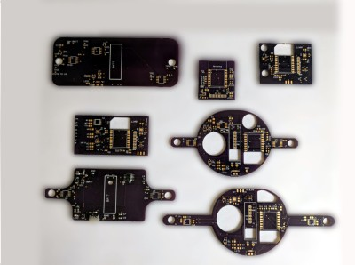 Many PCB revisions on the way to a final blimp.