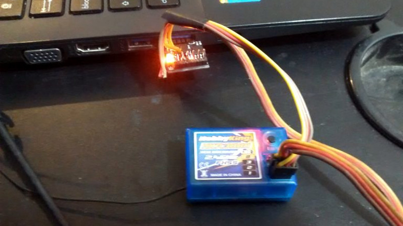 Simple RC To USB Interface | Hackaday