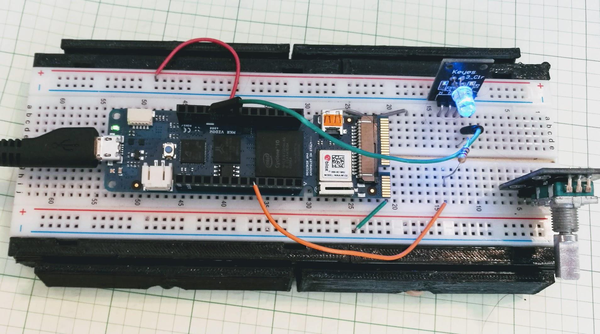 Hands-On With New Arduino FPGA Board: MKR Vidor 4000 | Hackaday