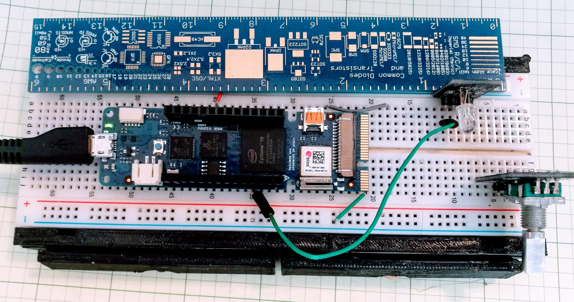 Hands-On With New Arduino FPGA Board: MKR Vidor 4000 | Hackaday