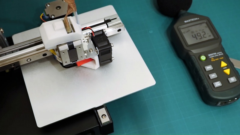 This Cetus Printer Is Rigged For Silent Running | Hackaday