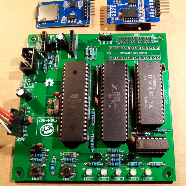 The $4 Z80 Single-Board Computer, Evolved  | Hackaday
