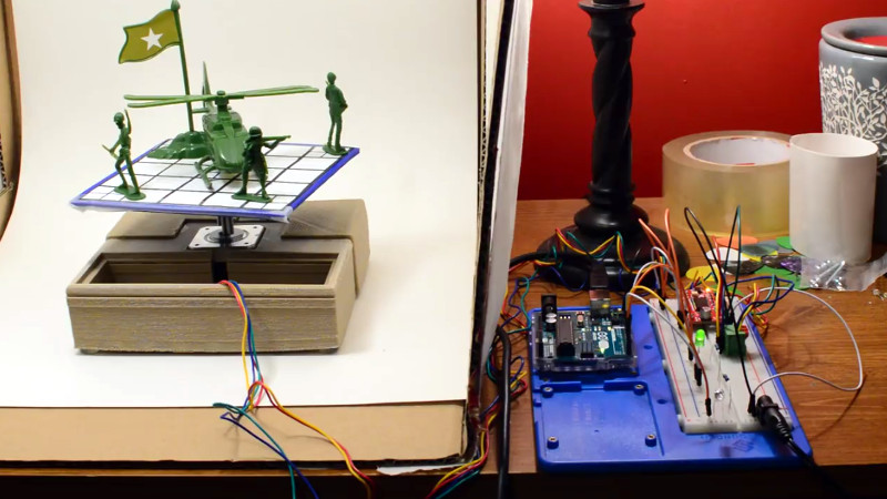 Automated Turntable For 3D Scanning | Hackaday
