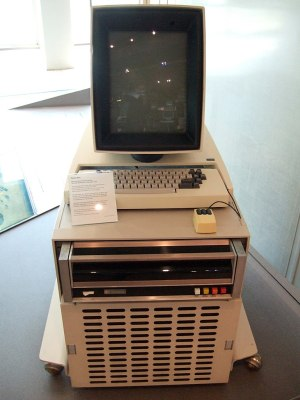 We could have featured a minicomputer such as a DEC PDP-11 as an example of a CPU built from 74 series logic. But the 74-driven Xerox Alto makes a greater point about 74 logic as the progenitor of modern computing devices. Joho345 [Public domain]