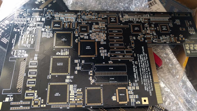 recreating the amiga 1200 pcb from pictures hackaday  a tuneup for the amiga 500 coronax& 39;s
